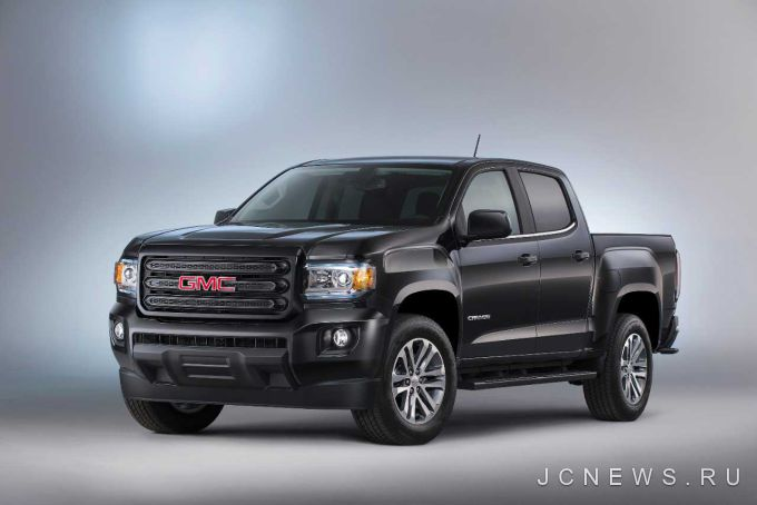 В Детройте показали GMC Canyon Nightfall Special Edition